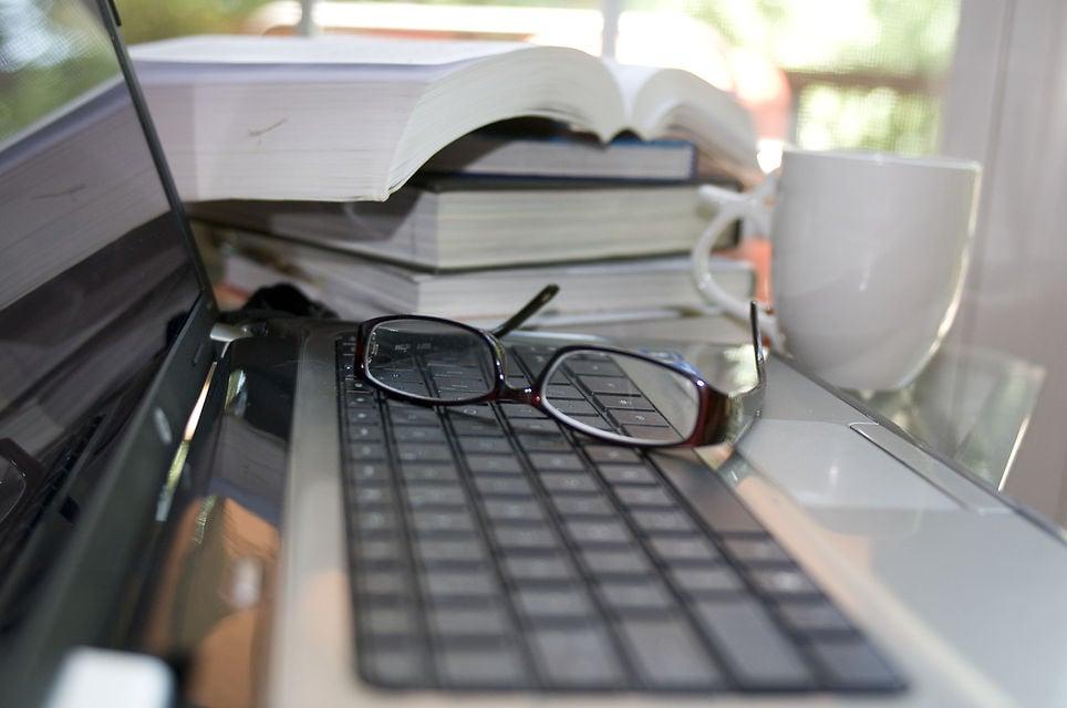 laptop or tablet