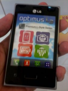 LG Optimus L3 SPOTTED