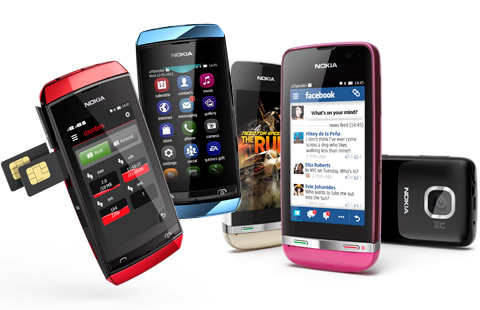 Nokia Asha 305, Nokia Asha 306, and Nokia Asha 311 Revealed! Touch