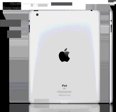 New iPad 3 Back