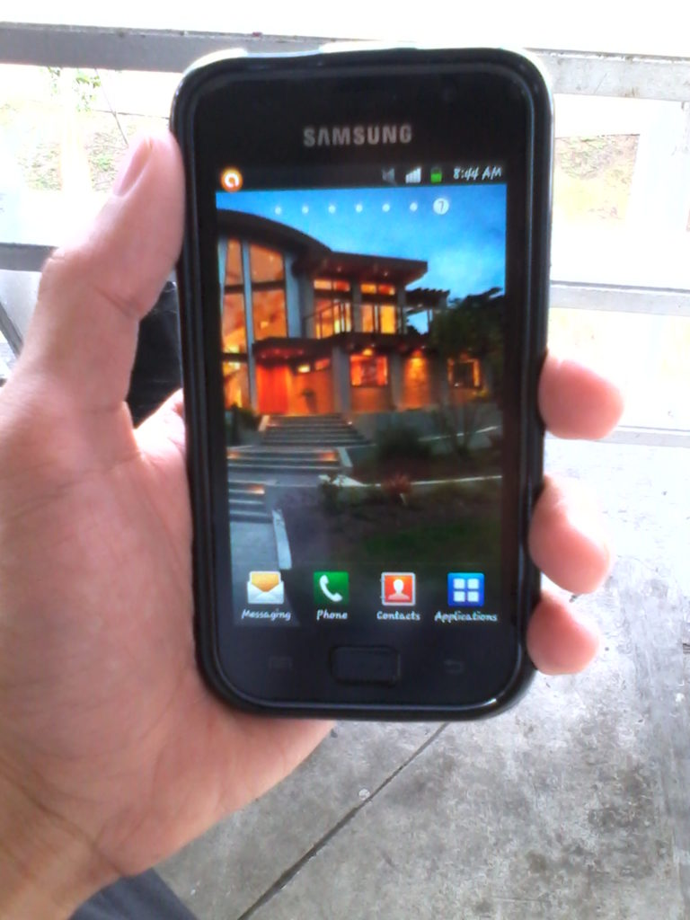 Samsung Galaxy S Advance Photo Taken Using GT3 Astroid Android phone by DTC