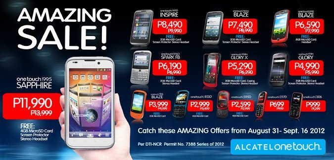The Alcatel Amazing Sale Phones Price List: Android and QWERTY phones ...