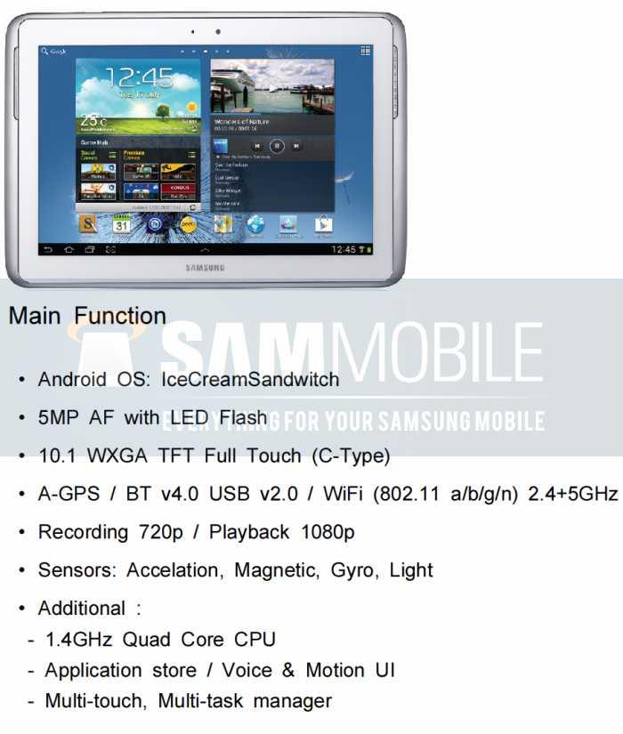 Galaxy-Note-10-1-specs
