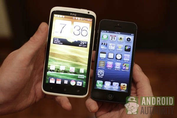 htc-one-x-vs-iphone-5