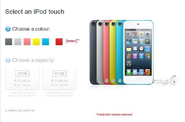 Apple iPod Touch 5G Philippines Price, Features and Specifications