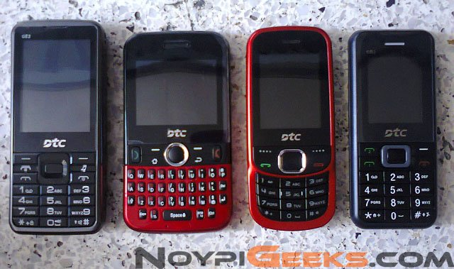 Giveaway: Four DTC Phones Up for Grabs!