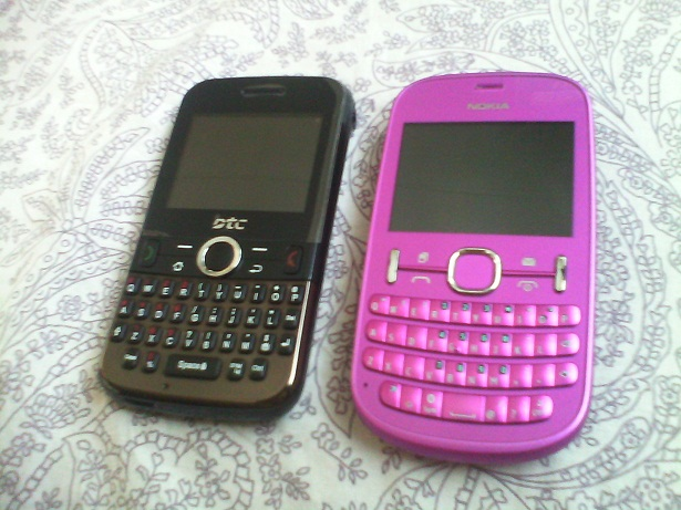 DTC Ego and Nokia Asha 200