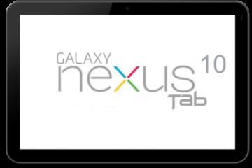 Nexus 10 Mockup