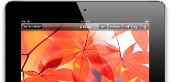 iPad 4 Facetime Camera
