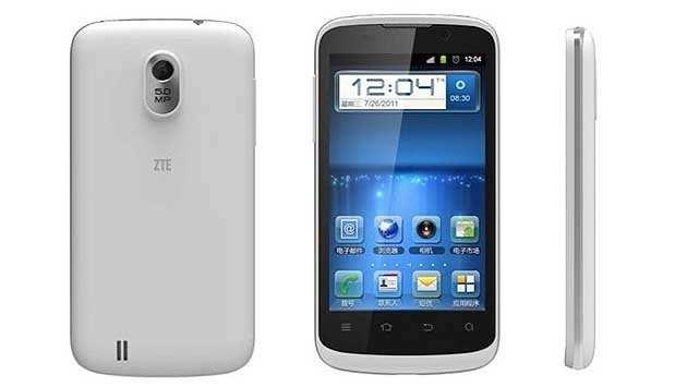 Xperia display zte blade iii telefon third