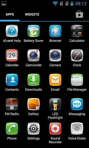 Apps Alcatel Insight 993D