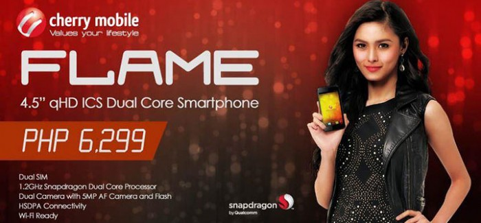 Cherry Mobile Flame Specs, Price, Features