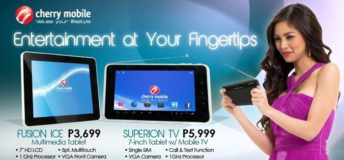 Cherry Mobile Fusion Ice and Superion TV Price and Specs