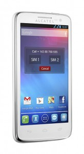 Alcatel One Touch Sapphire 2 White