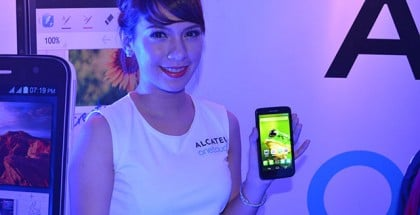 Alcatel One Touch Scribe HD with Model