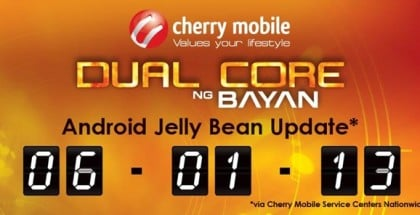 Cherry Mobile Flare Jelly Bean Update