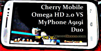 Cherry Mobile Omega HD 2.0 VS MyPhone A919i Duo Specs Comparison