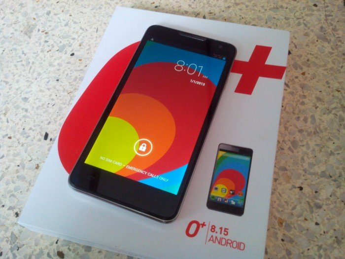 O+ 8.15 Unboxing: 5-inch Quad-core Android Phone with Android 4.2 Jelly Bean