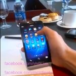 New Blackberry A10 5-inch Smartphone Stars in a Video