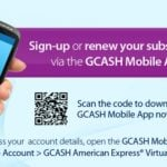 Purchase apps and games on Apple App Store and Play Store via Globe GCash AMEX
