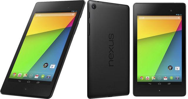 New Nexus 7 Multi Angle