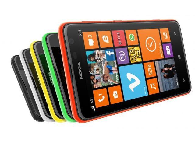 Nokia Lumia 625 Color Variants