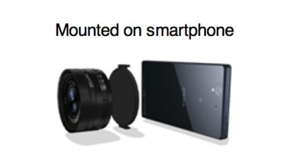Sony Xperia Lens Camera for Smartphones