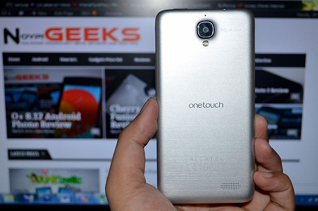 Alcatel One Touch Idol Back