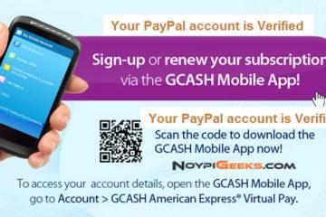 GLOBE-GCash-AMEX-PayPal-Guide