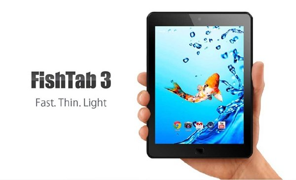Kata FishTab 3: Quad-core Processor, IPS Display, Android 4.2.2 Jelly Bean