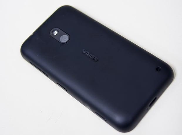 Back of Nokia Lumia 620 - Review