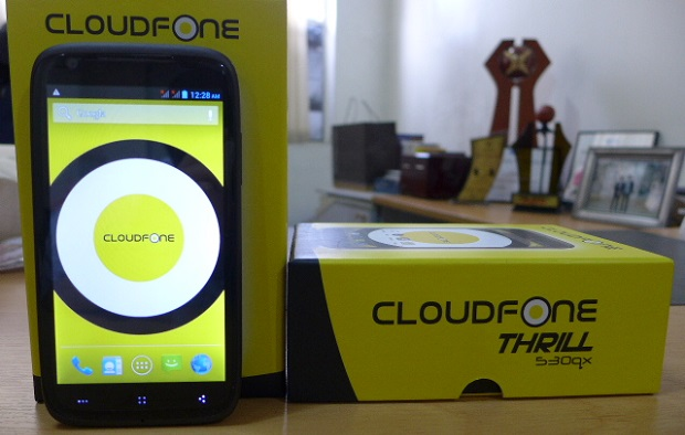CloudFone Thrill 530QX Features, Specs, Price, Availability