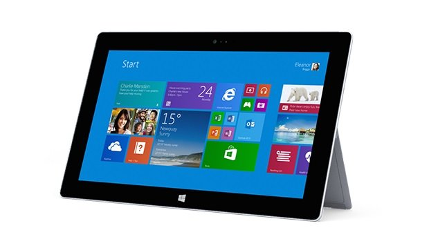 Microsoft Surface 2: Tegra 4 CPU, high-def display, Windows RT 8.1