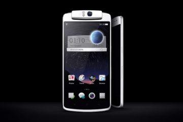 Oppo N1 Cyanogenmod smartphone