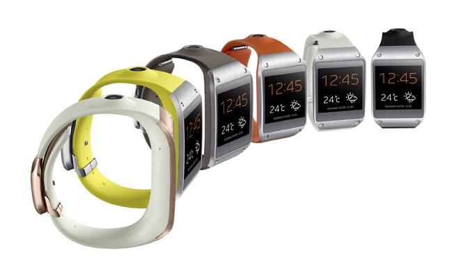 Samsung Galaxy Gear Color Variants