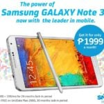 Grab a free Samsung Galaxy Note 3 with Smart's All-In 2500, Unli 2000 data plans