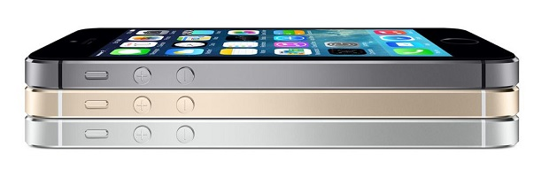 iPhone 5S silver gold space gray