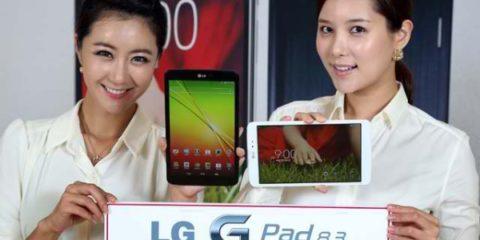 LG G Pad 8.3 Availability