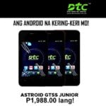 DTC Mobile's Astroid GT5S Junior, GT6X Speed 2G entry-level Android phones now available