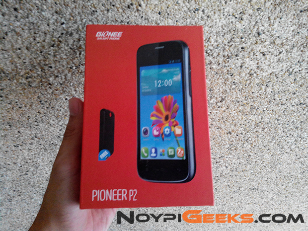 Box of Gionee P2