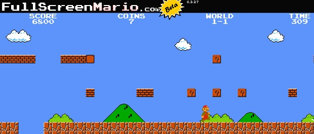 Play Old School Super Mario Bros For Free In Your Browser