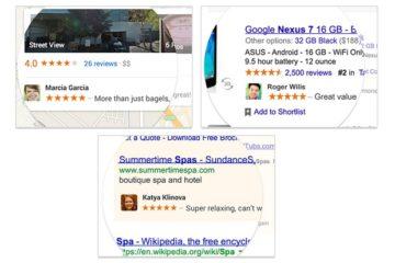 Google Shared Endorsements