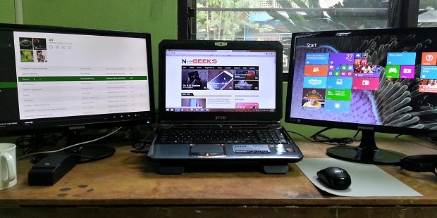 how to connect dual monitors to your laptop