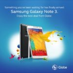 Globe reveals mySUPERPLAN with Samsung Galaxy Note 3