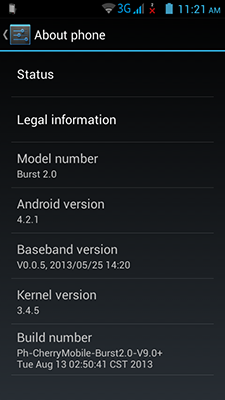 Android 4.2.1