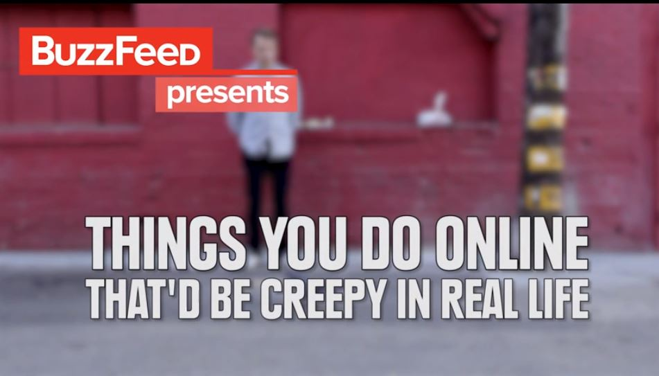 7 normal things online that are creepy in real life [VIDEO