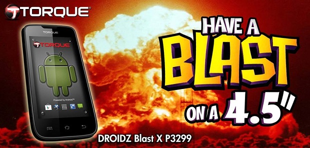 Torque Droidz Blast X Features, Specs, Price, Availability