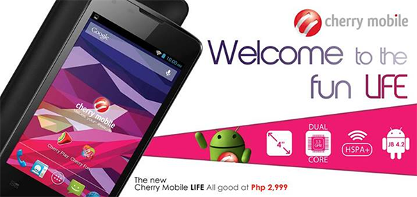 Cherry Mobile Announces the new Budget-Friendly Cherry Mobile LIFE