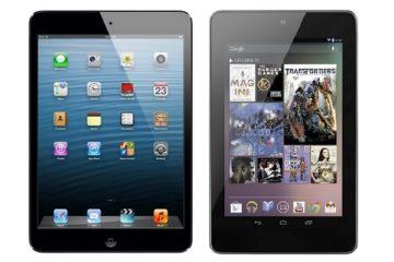 iPad mini 2 vs Nexus 7 2013