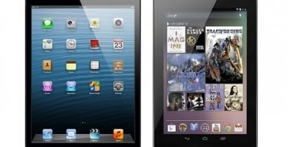 iPad mini 2 vs Nexus 7 2013